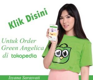 isyana sarasvati tokopedia green angelica