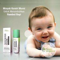Minyak Kemiri Alami Penumbuh Rambut Bayi, Pelebat rambut bayi